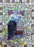 Mosaic owl by Dawn Briskey