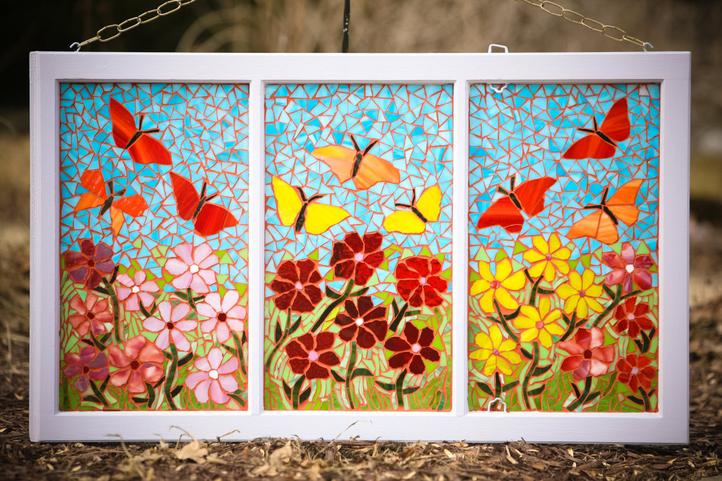 Butterfly Window - ReclaimedMosaics