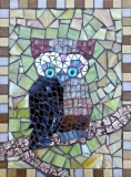 Mosaic owl by Dawn Briskey