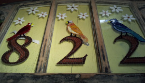 822 Window Birds and Numbers - WIP - ReclaimedMosaics